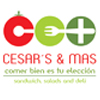 Cesar's & M�s. Sandwich, salads and deli